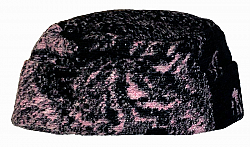 Wolf Faces Pink Fleece Hat