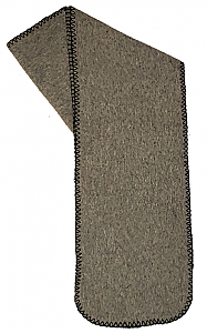 Clearance Light Gray Fleece Scarf